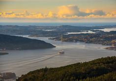 Bergen Norway's Second City and the Gateway to the Fjords. Photo by @haugseng_foto on Instagram.