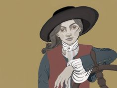 """They said she couldn't do it, but... Jeanne Baret wasn't a shy flower. Born in France's Loire Valley in 1740, she roamed the fields looking for herbs to serve as medicine—she had been taught to be an """"herb woman"""" by her family. Another lucky discovery in the valley? A naturalist and nobleman named Philibert Commerson, who shared a passion for botany and collecting plants (ah, true love). He hired her as a teacher, assistant, and aide"""