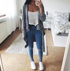 adidas, denim, fashion, girl, iphone, jeans, outfit