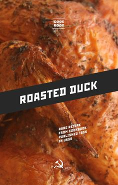 Roasted duck | Soviet Cooking | Almost forgotten recipes