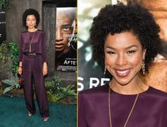 Sophie Okonedo attends the After Earth premiere at Ziegfeld Theater   Photo Credit: Getty Images and Gilbert Carrasquillo/FilmMagic  (Source: itsloudinsidemyhead)