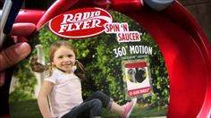 Radio Flyer came out with an amazing new toy! @radioflyerbrand #spinNsaucer