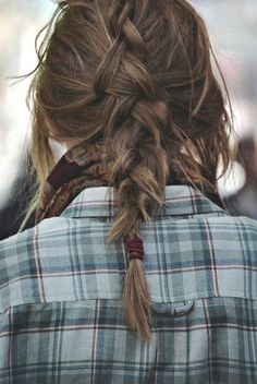 Messy but Cute Braid