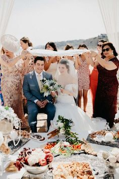 Multicultural Destination Wedding in Barcelona - Sofreh Aghd Wedding Planner, Destination Wedding, Persian, Barcelona, Table Decorations, Wedding Planer, Persian People, Destination Weddings, Persian Cats