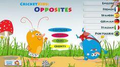Cricket Kids: Opposites – Best Apps For Kids