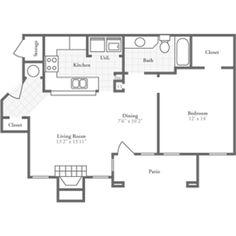 One Bedroom Deluxe 850 sqft