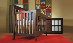 Pali  Emilia Forever Crib..in vintage cherry