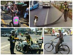 A different side to the Thai police