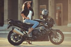 #girls with #motorcycles