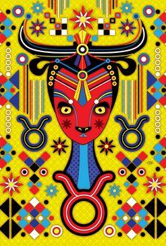 Taureau ♉ Catalina Estrada. Creative Direction by Ramiro Torres.