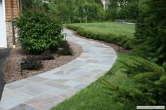 Front Walkway Landscaping Ideas | Before and After Landscaping Photos: Secluded residence on 11 acres