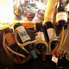 Antler Wine Rack-- love this