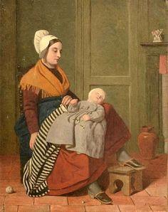 James Collinson - Mother and Child Dante Gabriel Rossetti, John Everett Millais, Victoria Reign, Pre Raphaelite Brotherhood, John William Waterhouse, Beauty In Art, Morris, Religious Images, English Artists