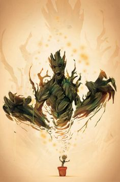 I AM GROOT. by ChasingArtwork on @DeviantArt