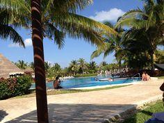 Beauty at the Valentin imperial maya resort!