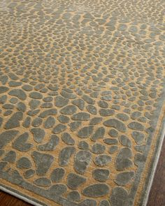 """Stone Path"" Rug at Horchow."