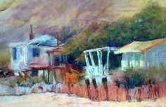 Pastels by Julie Skoda , via Behance
