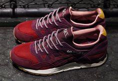 "mita sneakers x Asics ""Dried Rose"" Pack"