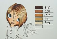 Heather's Hobbie Haven - Copic Hair Tone 8-13-13