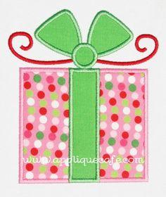 Present 2 Applique Design