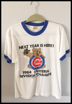4699a5574 vintage 1984  Chicago cubs t shirt size xl from  24.99