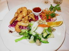 Nice dinner and service at Xu's Cooking, Vienna Vienna, Chicken Wings, Pasta Salad, Main Dishes, Vegetarian, Dinner, Cooking, Austria, Ethnic Recipes