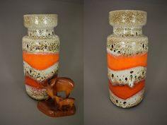 Vintage Vase / Scheurich / Modell 517 30 | West Germany | WGP | 60er von ShabbRockRepublic auf Etsy