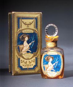 """Enchantress,"" a perfume bottle for Yardley, circa 1912"