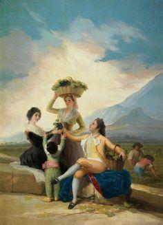 Descubre las ESTACIONES del año en los cartones para tapices de Goya
