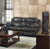 Our new Catnapper Catalina Bonded Leather Reclining Console Loveseat