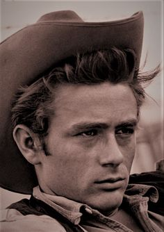 "James Dean - in the western ""Giant"" 1956"
