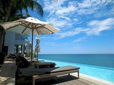 Phuket Beach view at Cape Sienna Hotel - Phuket Thailand. OK so it's not a yacht. A girl needs a little shore time. Best Hotel Deals, Best Hotels, Phuket Resorts, Phuket Thailand, Outdoor Pool, Outdoor Spaces, Hotel Offers, Beautiful Beaches, The Good Place