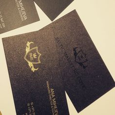 Marketing company black and gold luxury business card blazon marketing company black luxury business cards design golden letters shining card paper reheart Gallery