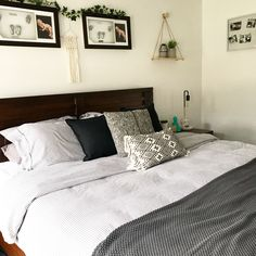 My sanctuary aka our bedroom. Bedroom, Furniture, Home Decor, Style, Swag, Decoration Home, Room Decor, Bed Room, Bedrooms