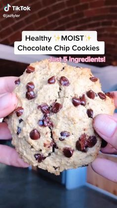 Healthy Sweet Snacks, Healthy Deserts, Healthy Sweets, Healthy Dessert Recipes, Sweets Recipes, Healthy Baking, Cookie Recipes, Vegan Recipes, Snack Recipes
