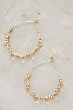 Rosewater Hoops - #anthrofave
