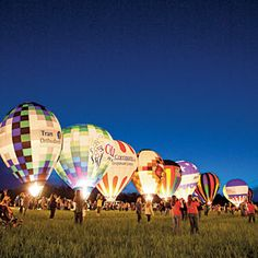 Kentucky Derby Festival Great Balloon Glow and Race.