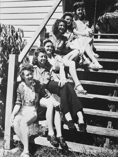 WWII War Brides, my grandma was one.  (Not in this pic, of course...)