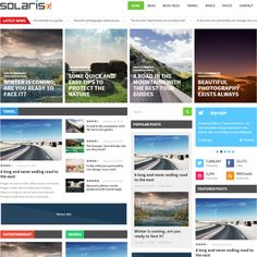 Solaris Magazine WordPress Theme | Best WordPress Themes 2014