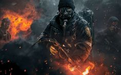 Tom Clancy's The Division 2015 Game Poster Wallpaper