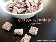 Double Chocolate Puppy Chow – #glutenfree #vegan #allergyfriendly   Vegetarian Mamma