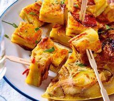 Tortilla au chorizo Tex Mex, Tortillas, Chorizo, Tapas, Potato Salad, Chicken, Cooking, Ethnic Recipes, Food