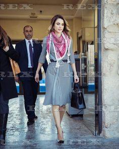 Queen Rania meets with women from Sayyidat Nashmiyyat Group, Amman, Jordan - 11 Jan 2017 Queen Rania 11 Jan 2017
