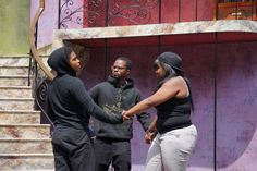 Richmond Artists With Talent (RAW Talent)—in partnership with Cal Shakes' Triangle Lab—performed The Adventure Of Grief: A Short Play on the Bruns Amphitheater stage. Photo by Jay Yamada.