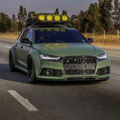 Army Green Wide-Body Audi Avant Is Ready For The Apocalypse Audi Rs3, Audi A3 Sportback, Audi A6 Allroad, Audi Wagon, Audi Rs6 Avant, A3 8p, Sports Wagon, Vw Vintage, Audi Sport