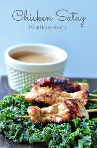 Chicken Satay Real Housemoms