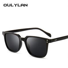 e743b583f8 Oulylan Vintage Sunglasses Men Luxury Brand Designer Driving Sun Glasses  Male Cool Shades Retro Goggle UV400 Black Blue Eyewear Review