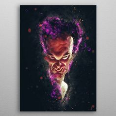 Quentin Caricature by Abraham Szomor | metal posters - Displate