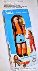 Catálogos Boneca Susi da Estrela de 1966 a 2014: Catálogo Boneca Susi 1972