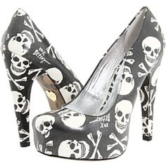 If I were an inch or two shorter... I would wear heels all the time. And skulls...duh lol